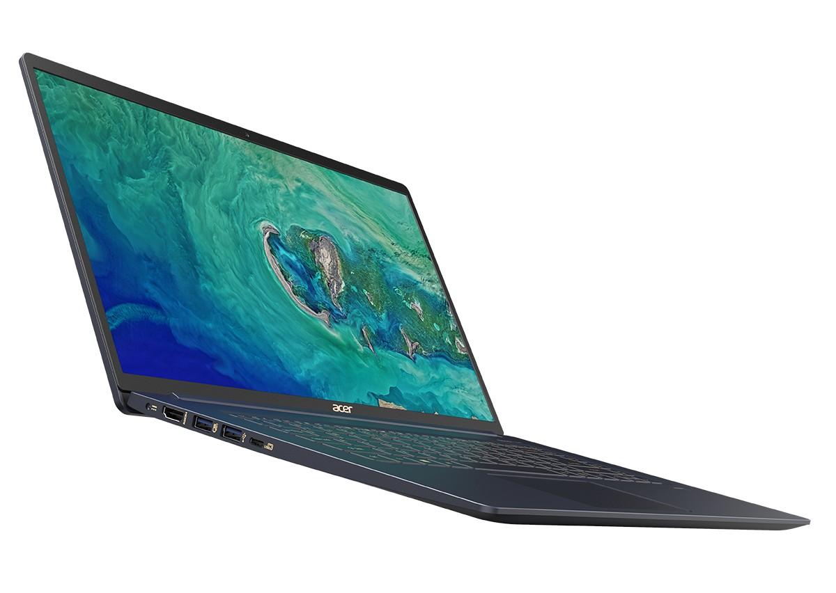 В Украине стартовали продажи сверхлегкого ноутбука Acer Swift 5 по цене от 32999 грн (14″) и 37999 грн (15,6″)